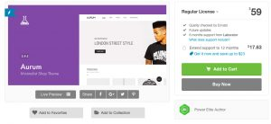 Aurum 3.7.1 – Minimalist Shopping WooCommerce Theme