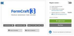 FormCraft – Premium WordPress Form Builder 3.8.24